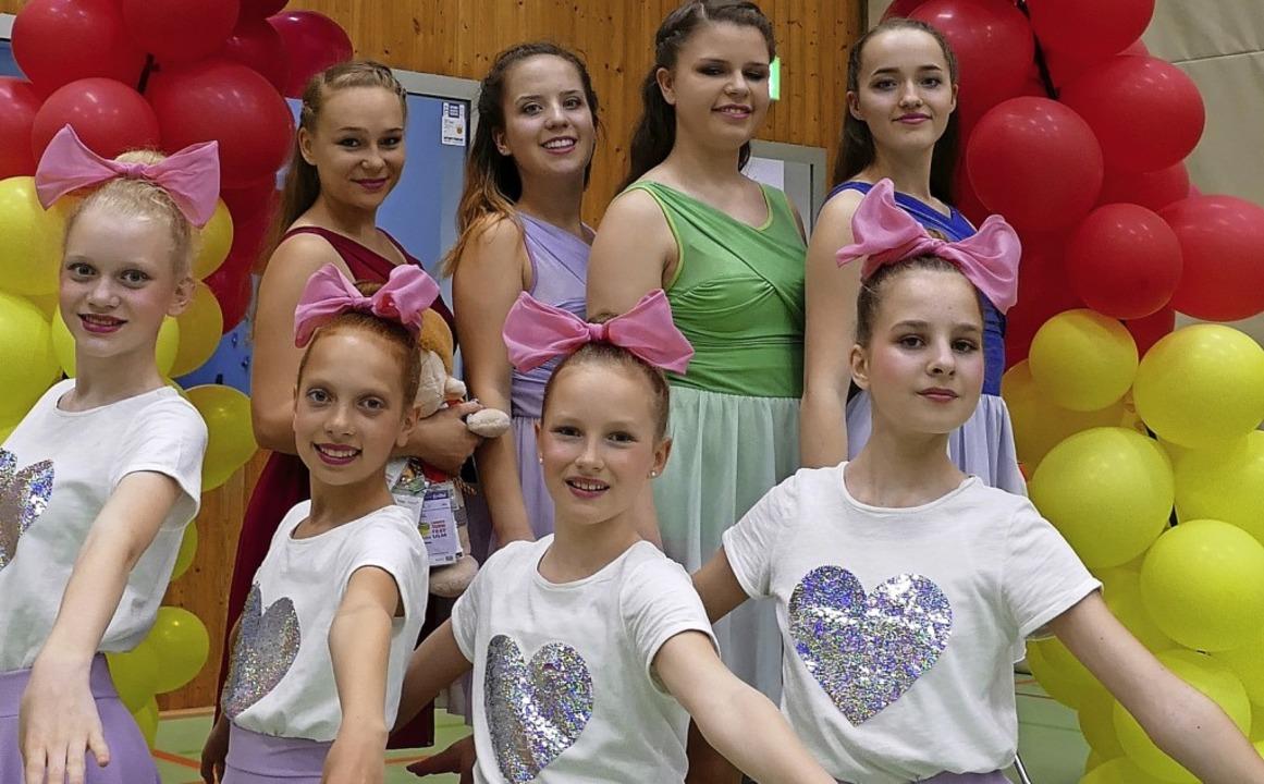 <BZ-FotoAnlauf>Dance:</BZ-FotoAnlauf> ..., welche den zweiten Platz erreichte.     Foto: Peter Korn