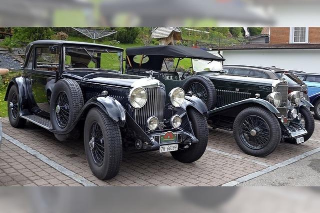Im Bentley und Talbot zum