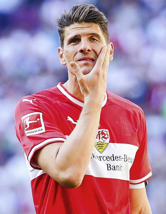 Bleibt laut Berater beim VfB Stuttgart: Mario Gomez   | Foto: Tom Weller (dpa)