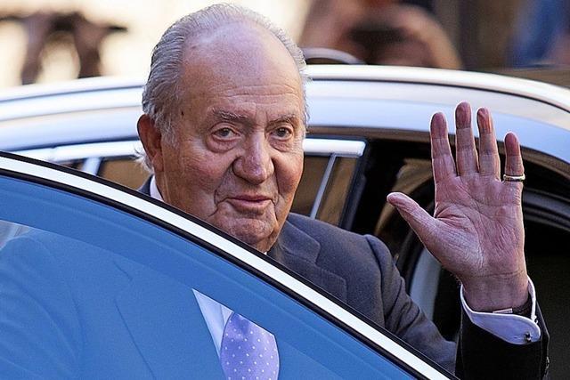 Juan Carlos sagt wieder mal adiós