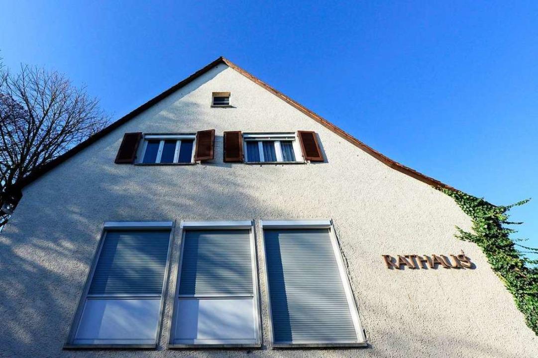Das Rathaus in Hochdorf (Archivbild)  | Foto: Ingo Schneider