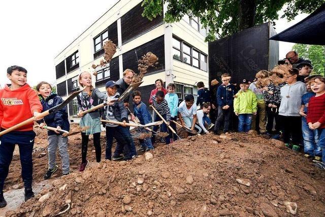 28 Millionen Euro teures Großprojekt an der Anne-Frank-Schule in Freiburg ist gestartet