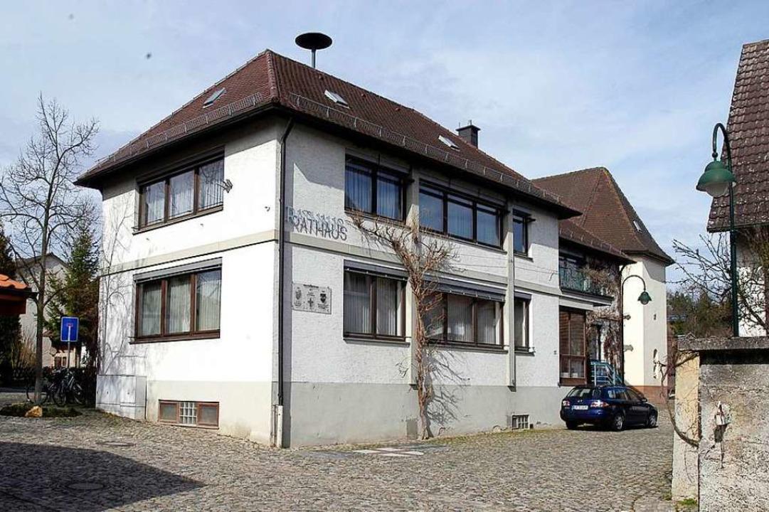 Das Rathaus in Waltershofen (Archivbild).  | Foto: Ingo Schneider