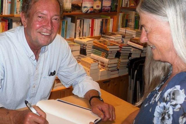 Bestseller-Autor stellt in Kirchzarten seinen neuen Krimi vor