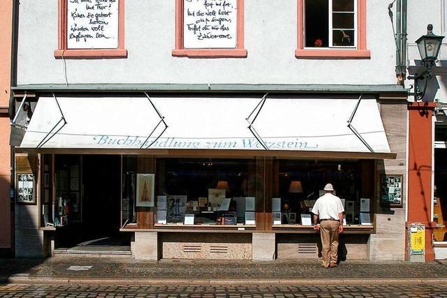 Die Buchhandlung zum Wetzstein schließt nach 41 Jahren