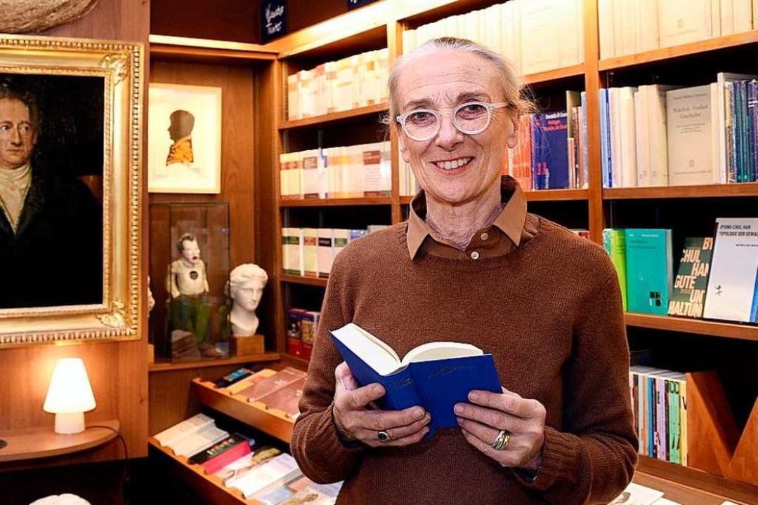 Susanne Bader schließt ihre Buchhandlung zum Wetzstein Zum Ende des Jahres.  | Foto: Thomas Kunz