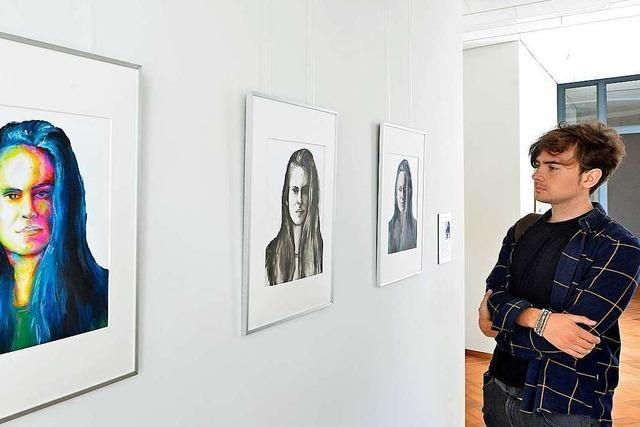 Stipendiaten des Freiburger Jugendkunstpreises zeigen ihr künsterlisches Talent
