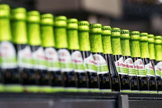 Brauerei Rothaus stemmt sich beim Umsatz gegen den Branchentrend