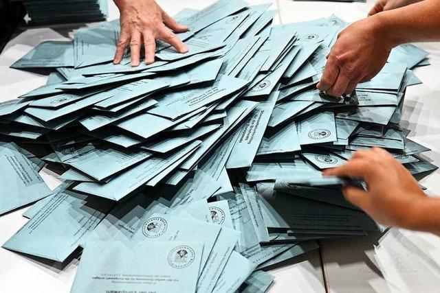 Warum die Stadt Weil am Rhein die Wahlen ruckzuck ausgezählt hatte