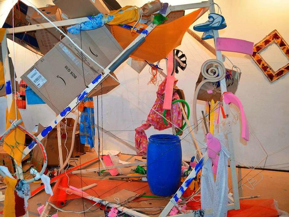 Ab Donnerstag findet am Kulturpark das...m Rahmen des Jugendkunstparkour statt.  | Foto: Hannah Seidler