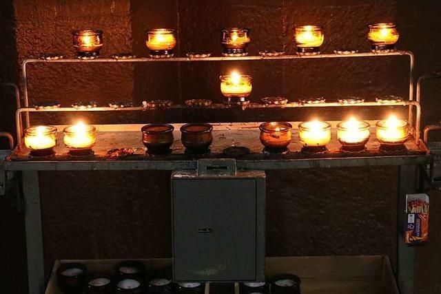 Kerzengeld gestohlen