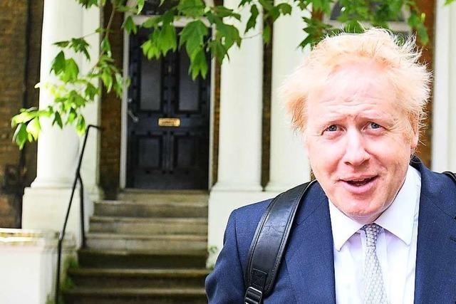 Boris Johnson muss sich vor Gericht verantworten
