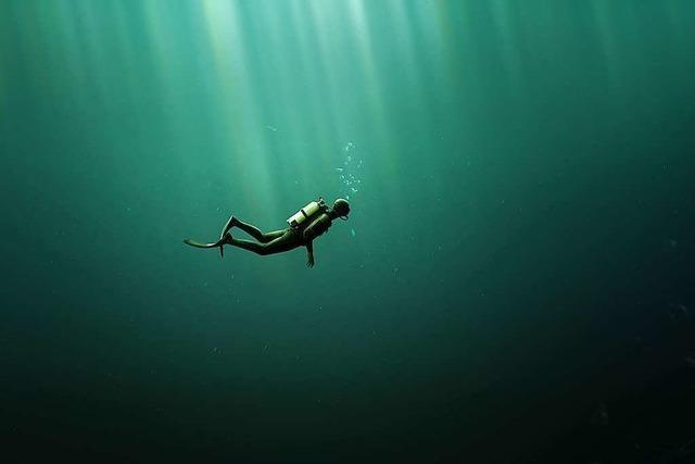 Orientierungstauchen ist wie Geocaching unter Wasser