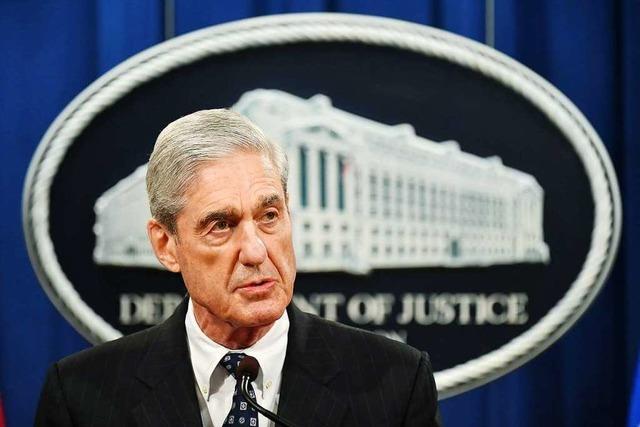 Mueller lässt Justizbehinderungs-Vorwurf gegen Trump explizit offen