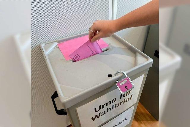 Manche Freiburger Briefwähler konnten nicht abstimmen – Unterlagen steckten wohl in der Post