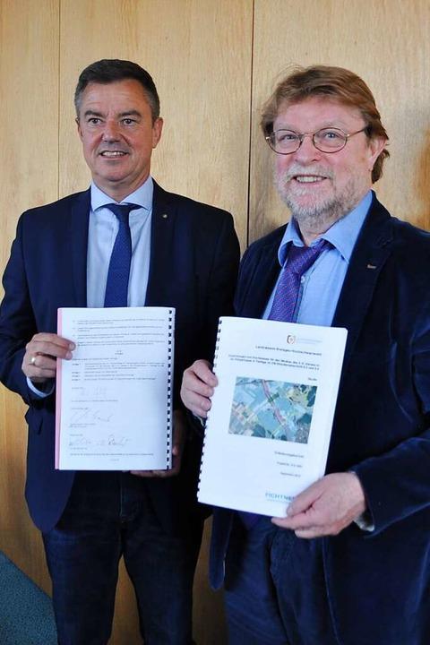 Uwe Lahl, Staatssekretär im Verkehrsmi...trale Planungsstelle angesiedelt wird.  | Foto: Rainer Ruther