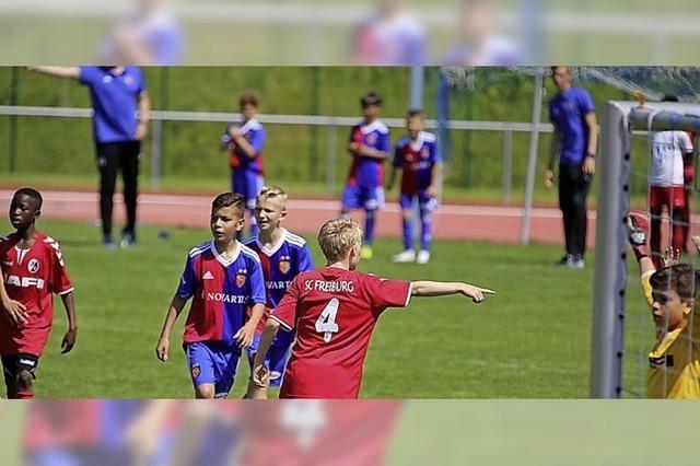 Ein Fußballfest für die U 11