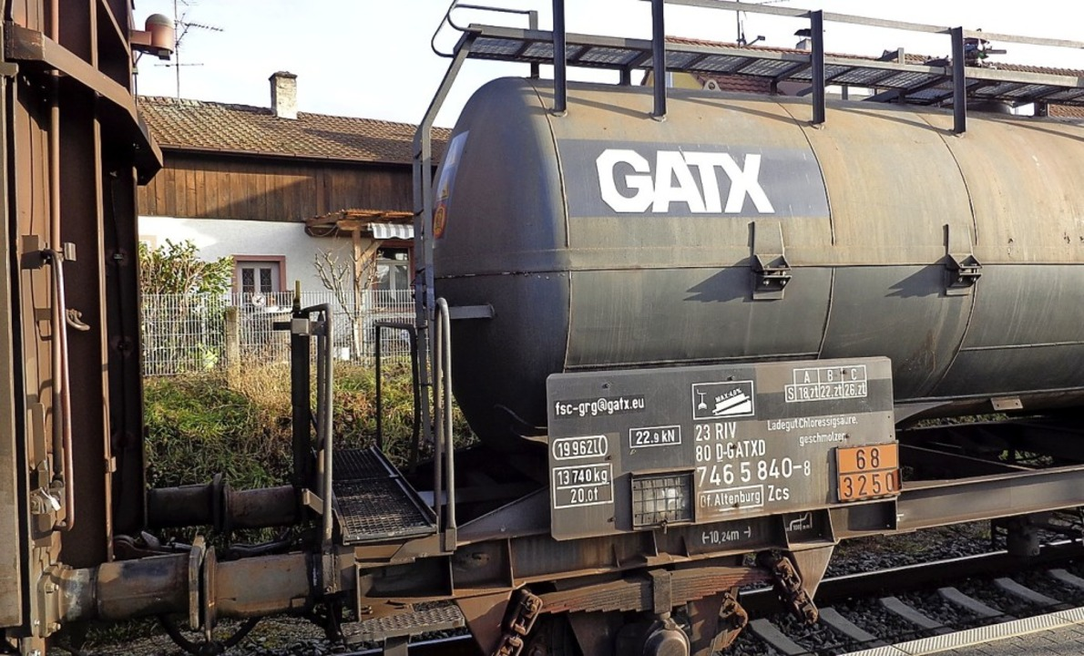 Bahn und Eisenbahnbundesamt sehen alle... der Kontrolle von Güterzügen erfüllt.  | Foto: Friedrich Lehr