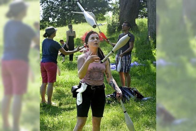 Jeder kann jonglieren lernen