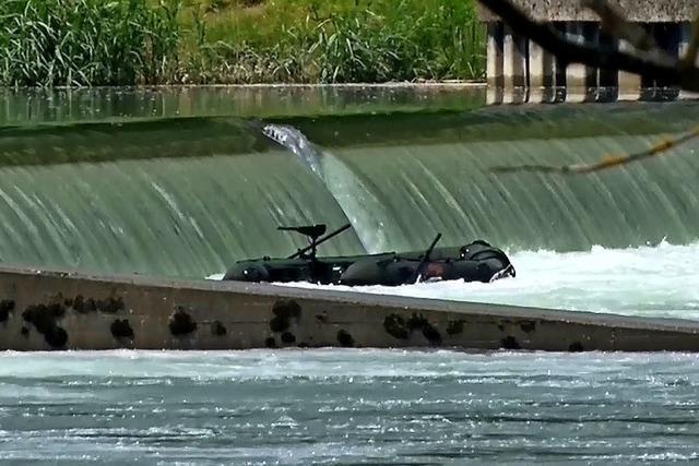 Schweres Unglück auf dem Rhein