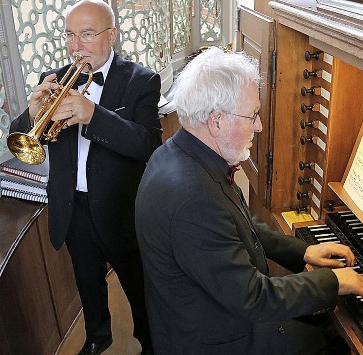 Claude Rippas (links) und Friedrich Fröschle   | Foto: Privat