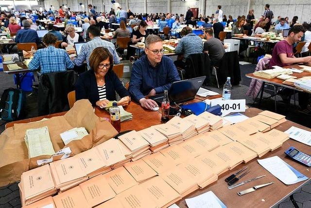 Sieben der acht Freiburger Ortschaftsräte wurden neu gewählt