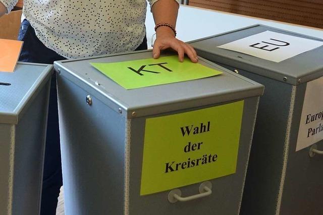 Das war das Ergebnis der Kreistagswahl im Dreisamtal