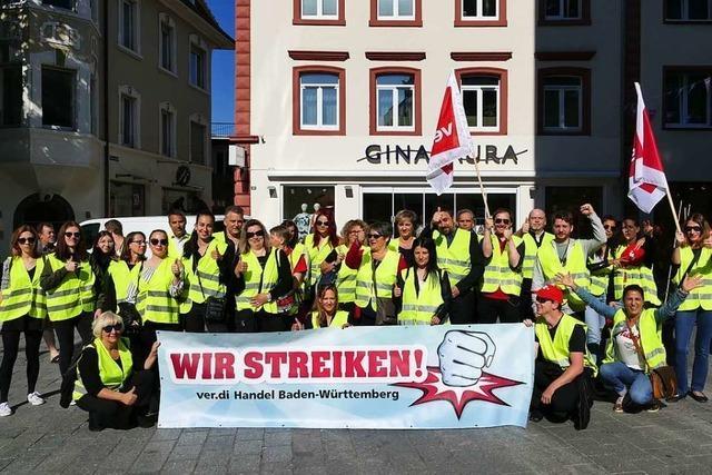 Erste Verdi-Warnstreiks im Einzelhandel gibt es auch in Lörrach