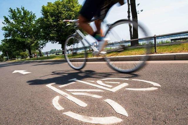 Erster Radschnellweg im Südwesten freigegeben