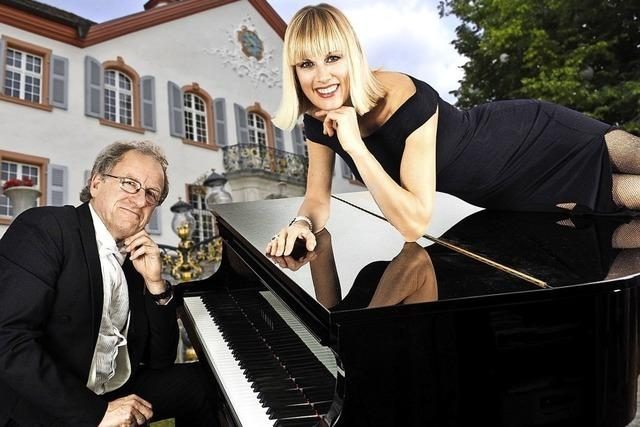 Christine Schmidt und Florain Metz zu Gast in Obereggenen