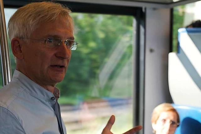 Bundestagsabgeordneter erklärt auf S-Bahn-Fahrt sein Verständnis von Nachhaltigkeit
