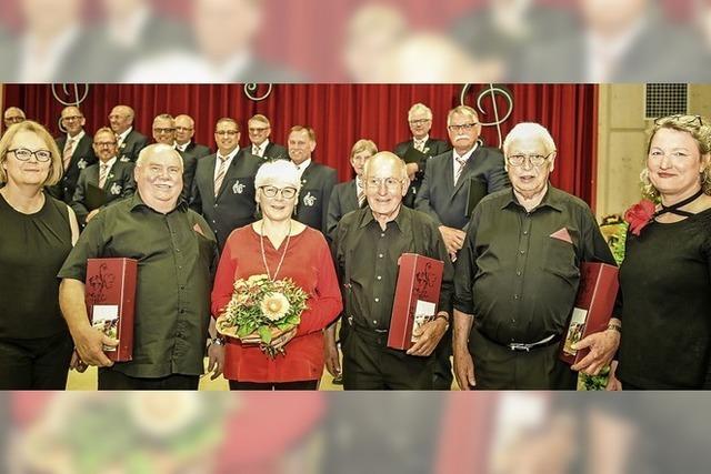 MGV Altdorf ehrt Mitglieder