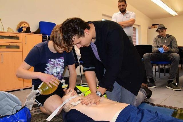 Am THG Schopfheim werden Schüler zu Ersthelfern ausgebildet