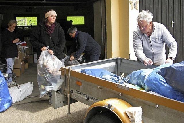 Erfolgreiche Spendenaktion in Bernau