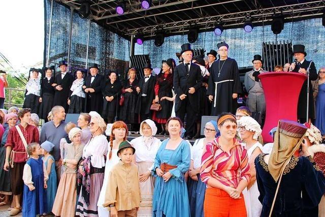 Bötzingen feiert 1250 Jahre Ortsgeschichte