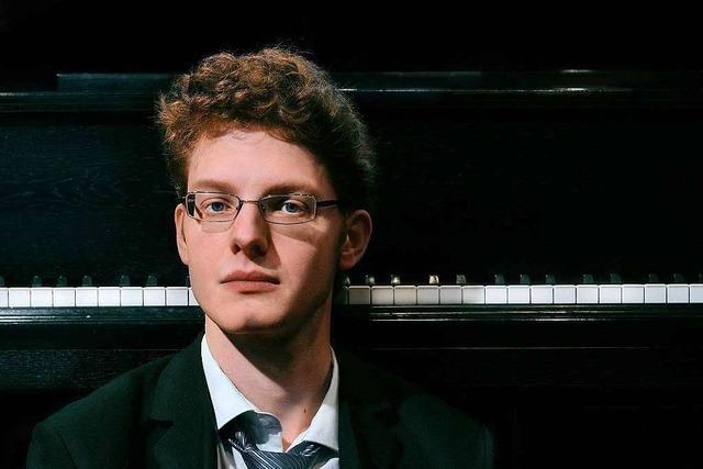 Der ARD-Preisträger Michael Schöch gab ein Orgelkonzert in der Barockkirche in St. Peter