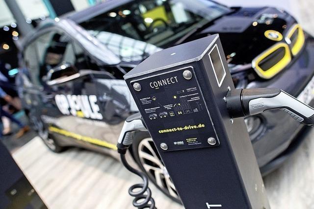 Der E-Auto-Absatz wächst kräftig, aber auf geringem Niveau