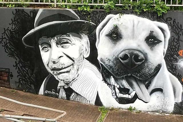 Graffiti-Künstler toben sich in Bad Säckingen aus