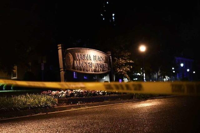Mann erschießt zwölf Menschen im US-Bundesstaat Virginia