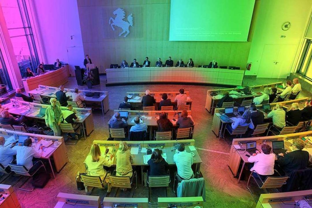 Seit der Kommunalwahl sitzen in den Rä...gart, Vertreter vieler kleiner Listen.  | Foto: Leif Piechowski
