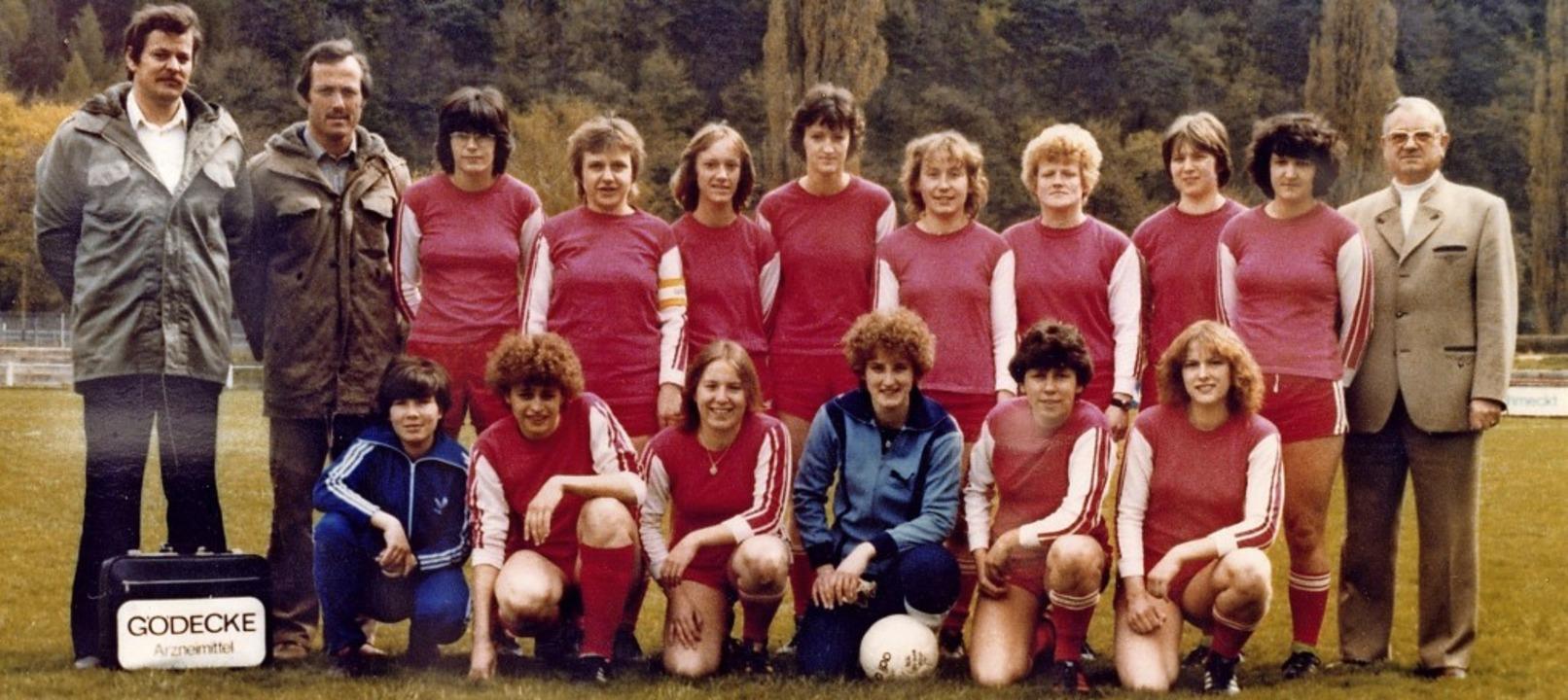 Der Konkurrenz in der Region oft haush... v. links) in der Spielzeit 1978/1979.  | Foto: PR