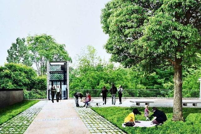 Ein Aufzug soll den Zwingerpark und die Innenstadt besser verbinden