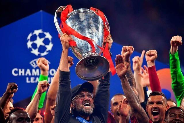 Klopp gewinnt mit Liverpool die Champions League