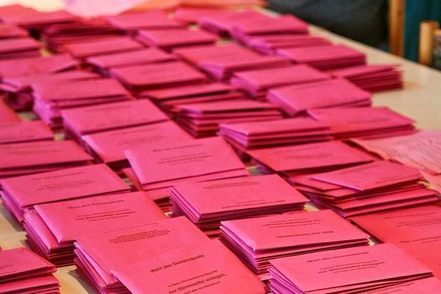 In Lörrach kamen nicht alle Briefwahlunterlagen bei den Wählern an