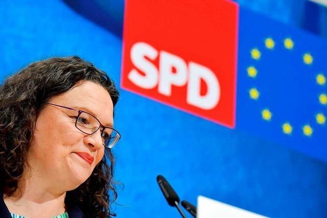 Andrea Nahles kündigt ihren Rücktritt an – Kritik am Umgang mit der SPD-Chefin