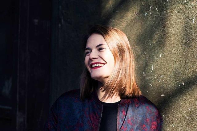 Hazel Bruggers zeigt sich in Freiburg als Erzähltalent