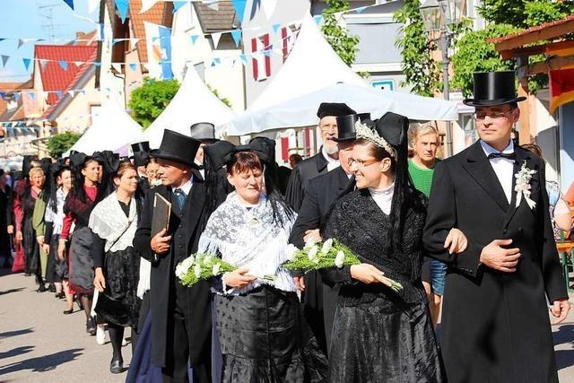 1250 Jahre jung: Bötzingen feiert eine grandiose Geburtstagsparty