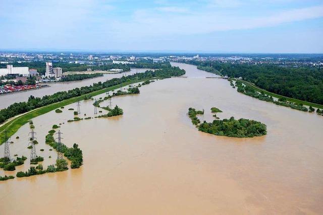 So funktioniert der Hochwasserschutz am Oberrhein