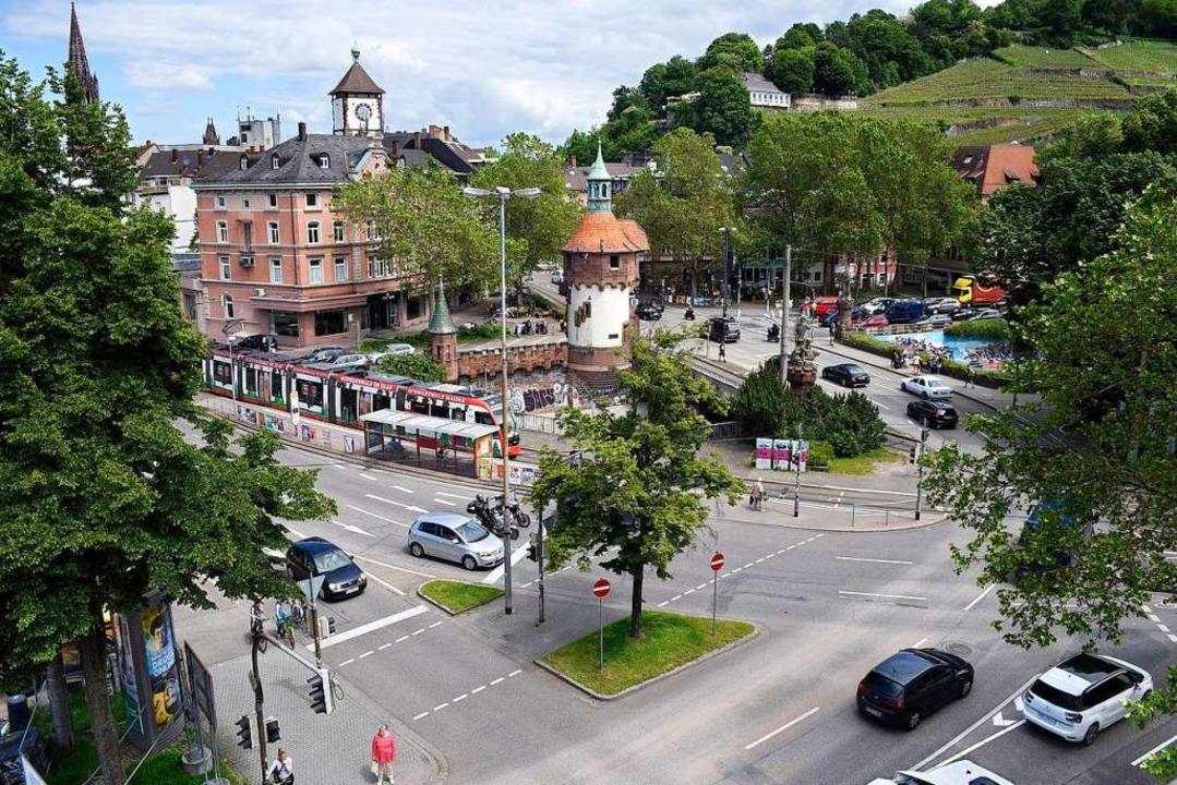 Die Schwabentor- und die Greiffeneggbr...sind vom 8. bis zum 13. Juni gesperrt.  | Foto: Thomas Kunz