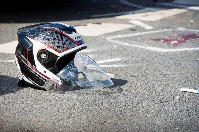 60-jähriger Motorradfahrer nach Unfall bei Bötzingen schwer verletzt in Klinik